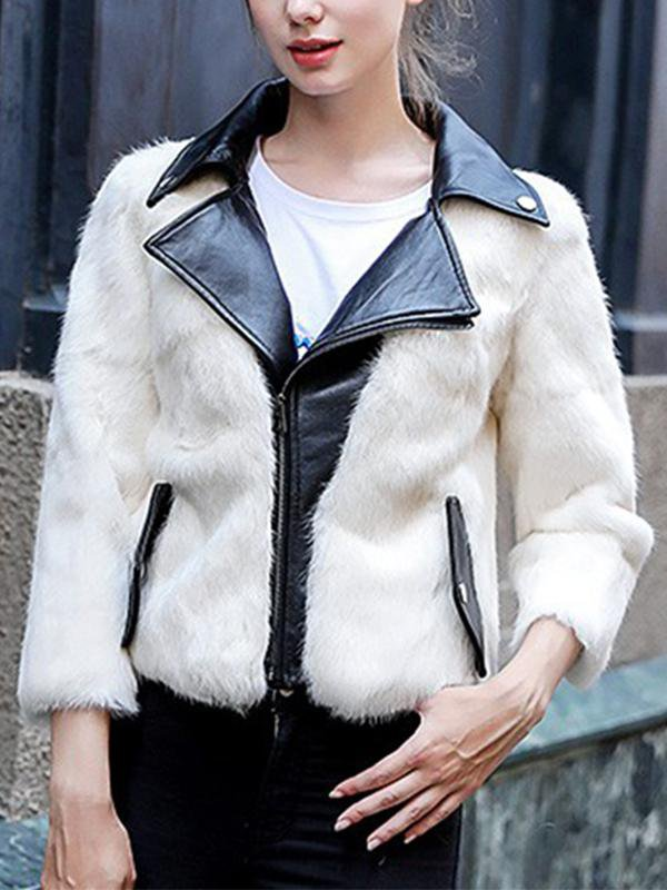 Locomotive Faux Fur Coat