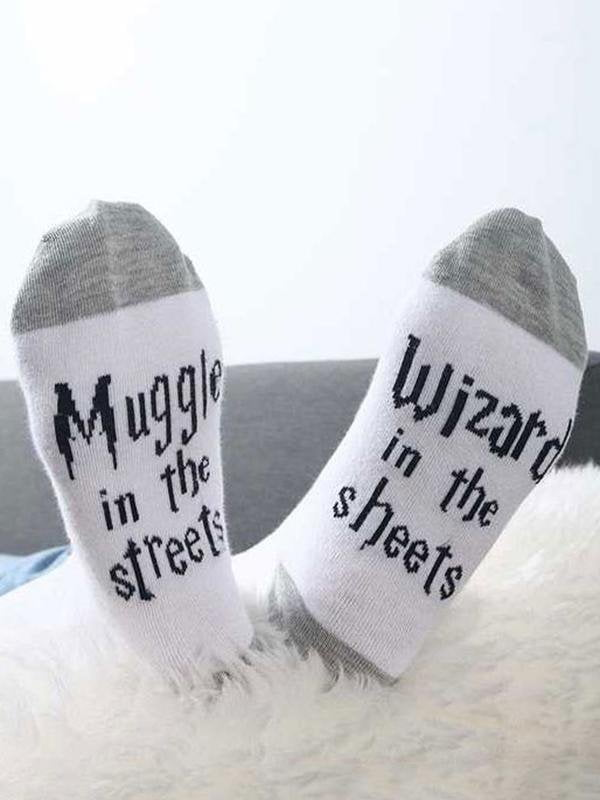 Muggle In The Streets Socks-Amazingbe.com-amazingbe.com