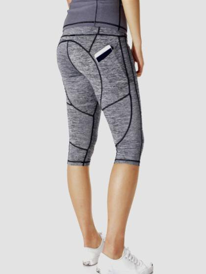 Gym Athletic Skinny Fitness Short Yoga Pants-Amazingbe.com-amazingbe.com