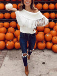 Fashion Tassel Sweater