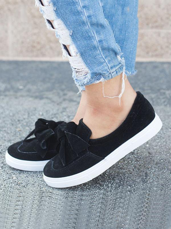 Bow Casual Loafers