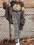 Fashion Leopard Print Sweatpants