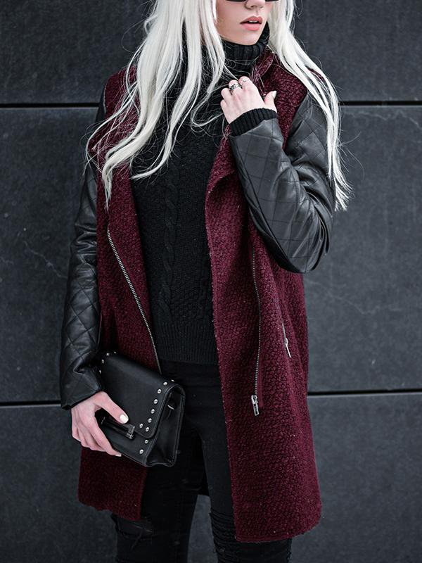 Women's Side Zipper Coat