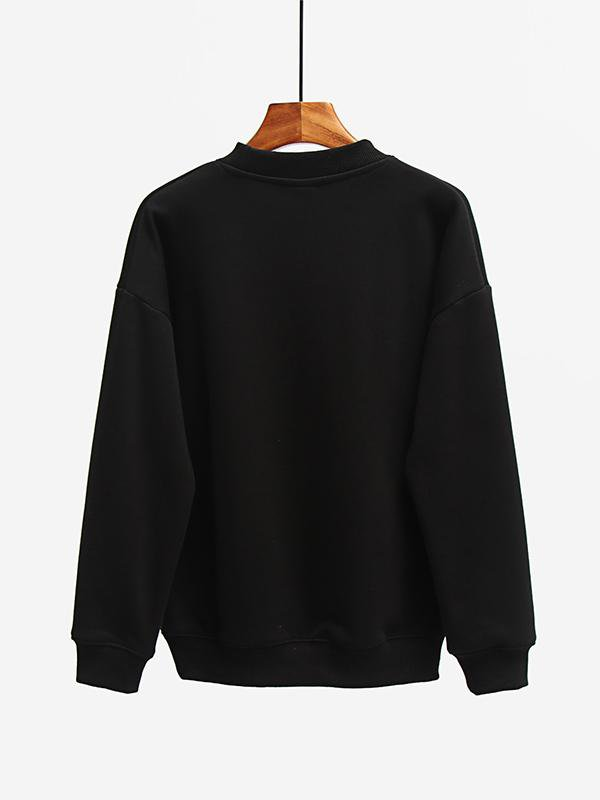 Round Neck Pullover Gold Velvet Sweater