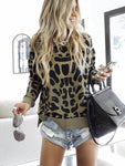 Fashion Leopard Printed T-shirt