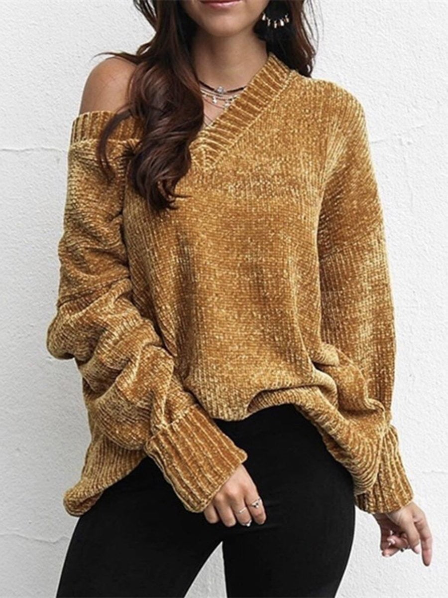Solid Color Chenille Shirt