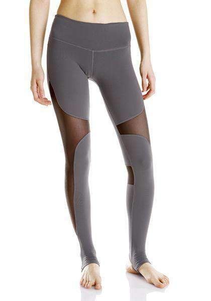 Dadichic.com Mesh Leggings Grey / L High Waist Sexy Mesh Yoga Pants