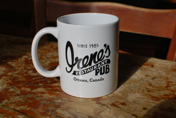 Irene's Mugs   |  White or Black