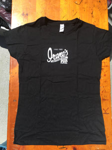 Ladies Short Sleeve T-Shirt  |  Black