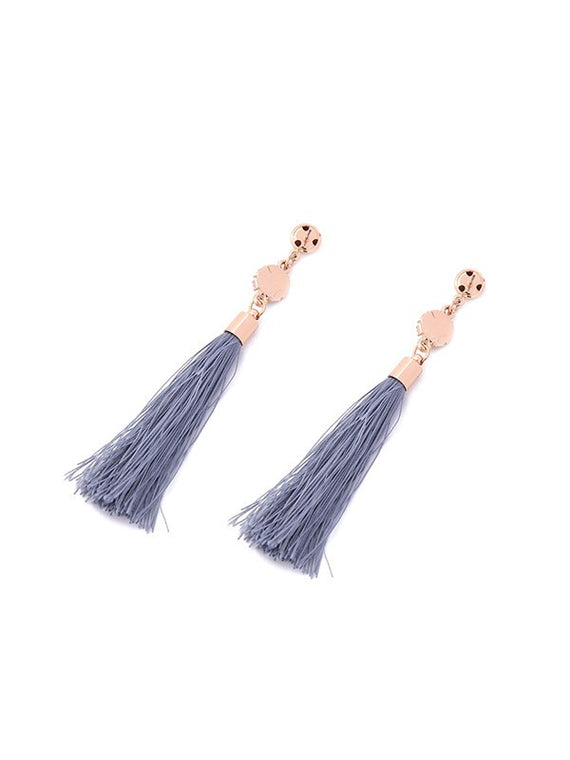 Erica Nikol Kylie Brynlee Fringe Drop Earrings