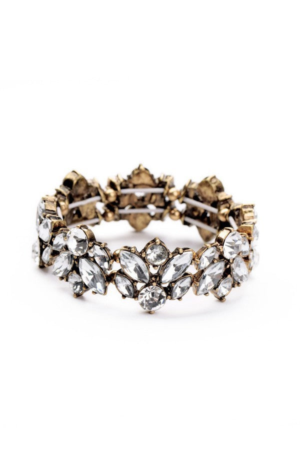 Erica Nikol Jane Crystal Stretch Bracelet