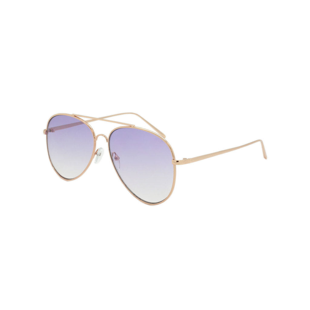Dazey Shades Color Tinted Lens Aviator Sunglasses