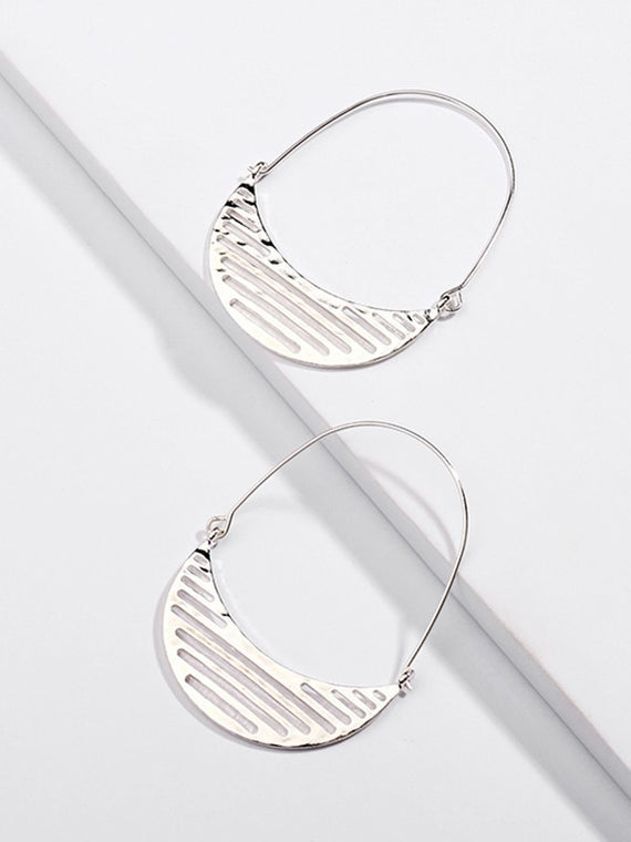 Erica Nikol Elanor Simple Statement Earrings