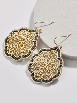 Erica Nikol Harmoni Drop Earrings