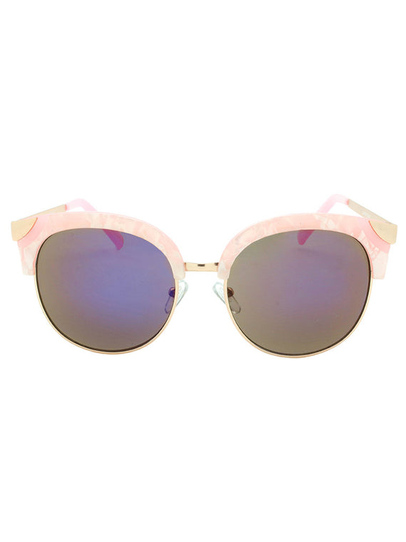 Dazey Shades Round Fashion Sunglasses