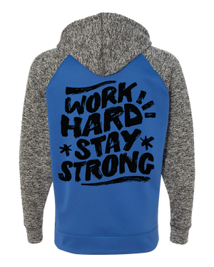 Load image into Gallery viewer, Work Hard Stay Strong Hoodie