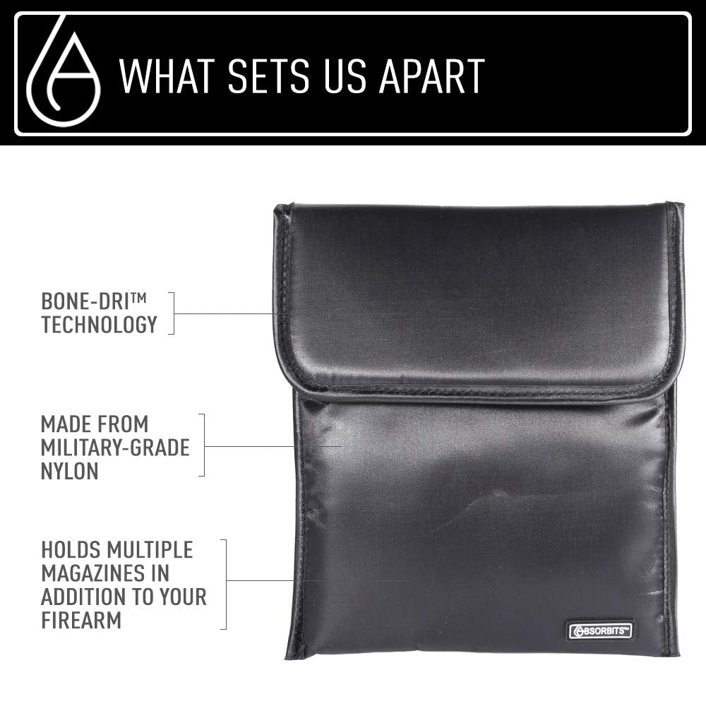 Bone-Dri™ offered by Absorbits Ballistics 1.0 Tactical Storage and Rescue Dry Pouch - Absorbits