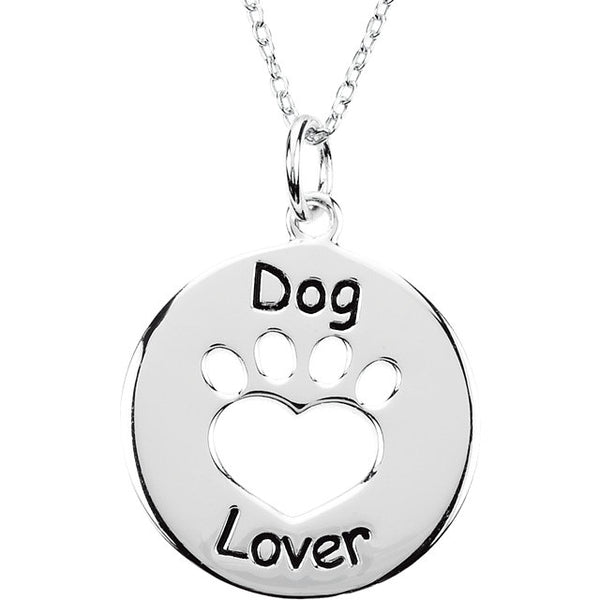 Dog Lover / Cat Lover Necklace