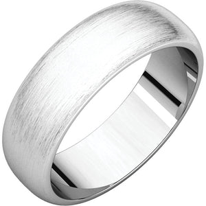 Men's Gold Band - Satin