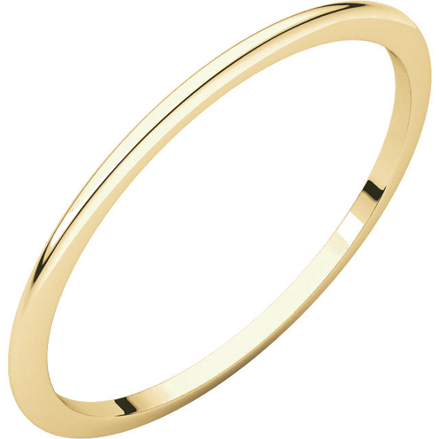 Slim Gold Band