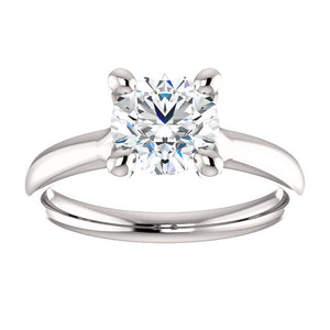 "1.04 carat - ""Floating"" Solitaire"