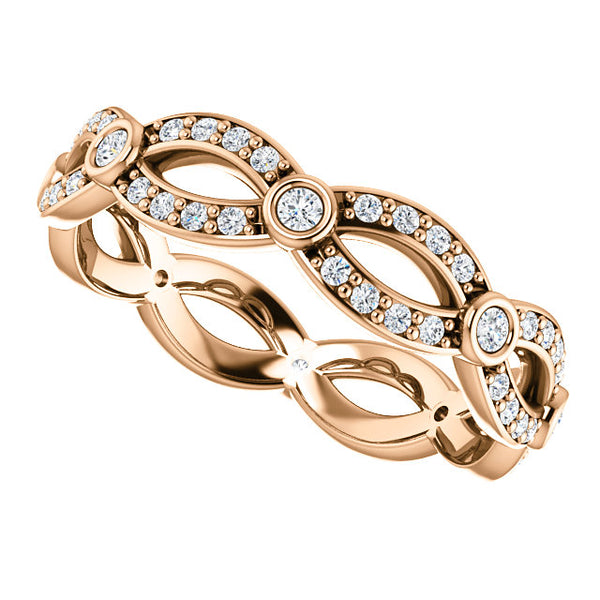 Infinity Style Eternity Band
