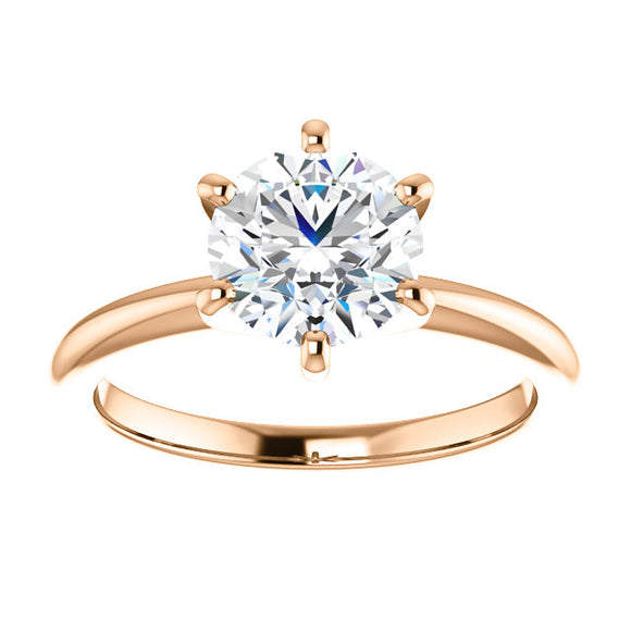 1.47 carat - 6 Prong Solitaire