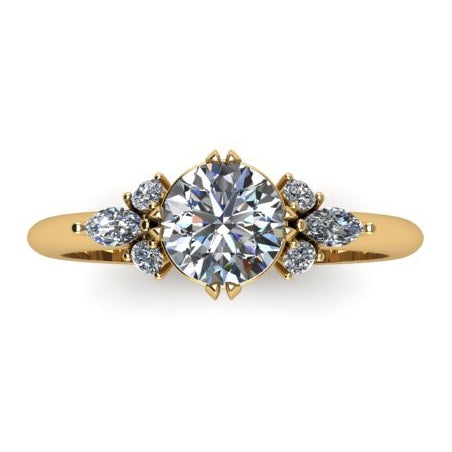1.20 cttw Diamond Engagement Ring