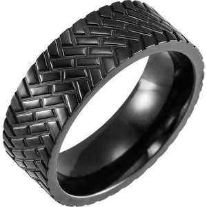 Black Titanium Comfort-Fit