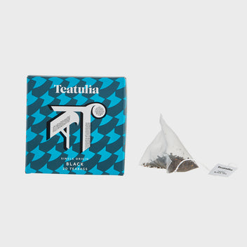 Black Silk Pyramid Teabags