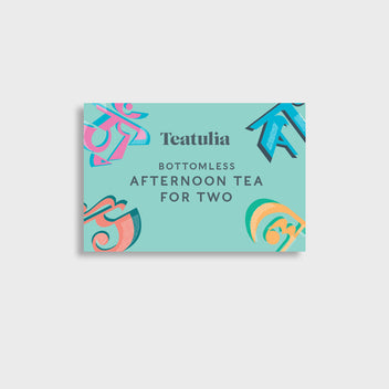 Bottomless Afternoon Tea for Two Voucher