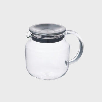 Kinto One Touch Teapot Stainless Steel (620ml)