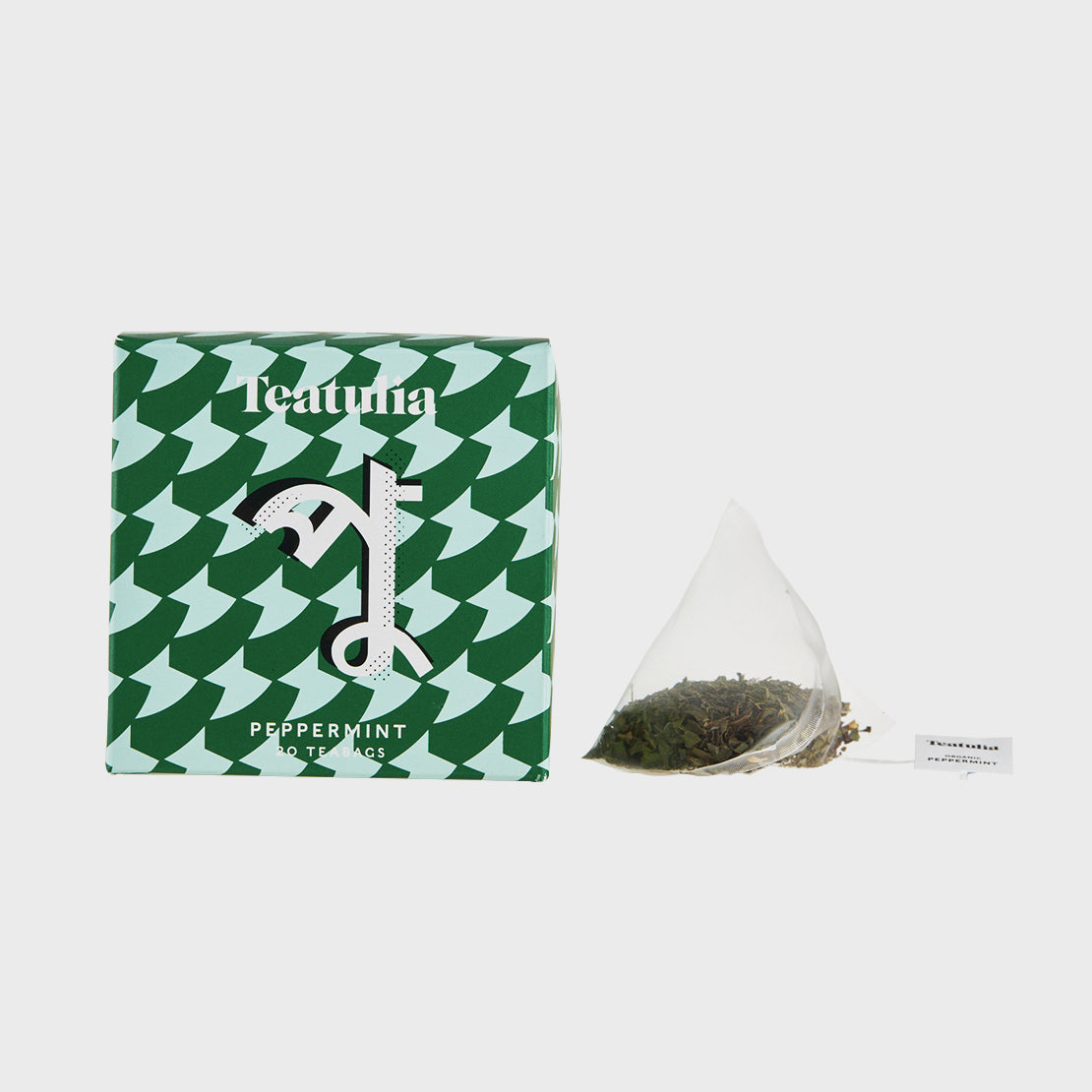 Peppermint Silk Pyramid Teabags