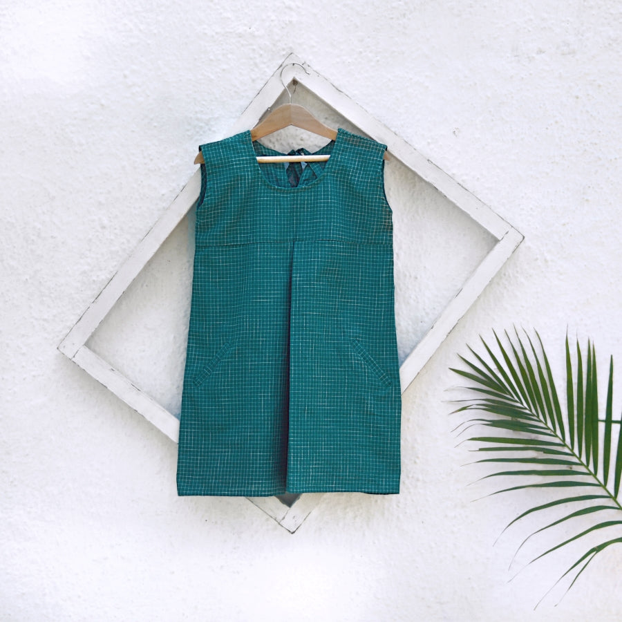 Perfect Squares Handloom Cotton Dress