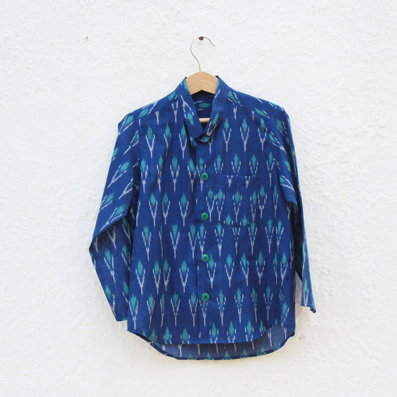 Kelp Forest Ikat Shirt