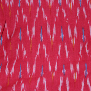 Fireworks in the Sky Ikat Fabric - Red and Blue (Cut Piece)