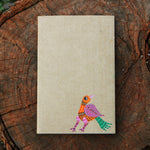 Gond Art Unruled Notebook - Bird