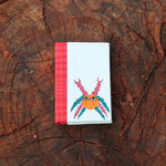Gond Art Pocket Notebook - Crab Motif