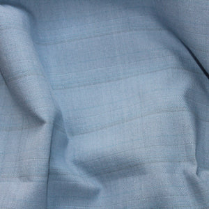 Clear Skies Handloom Cotton Fabric - Pale Blue