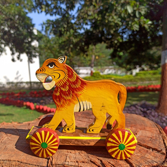 Lion Push Along Toy