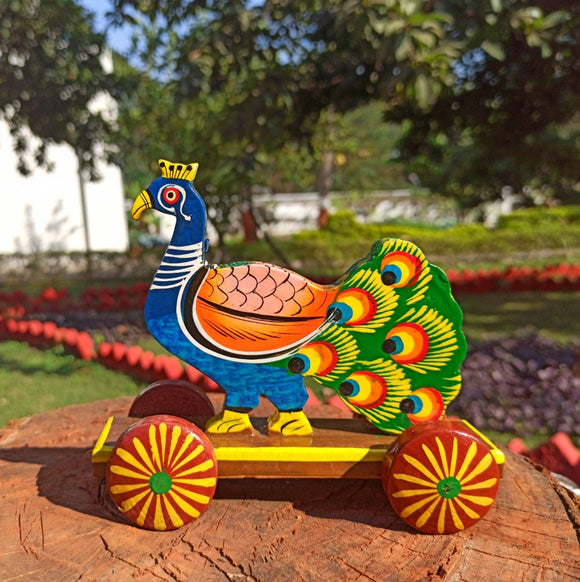 Peacock Push Along Toy
