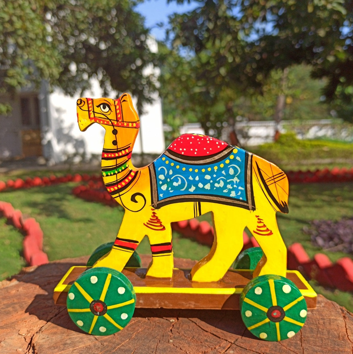 Camel Push Along Toy