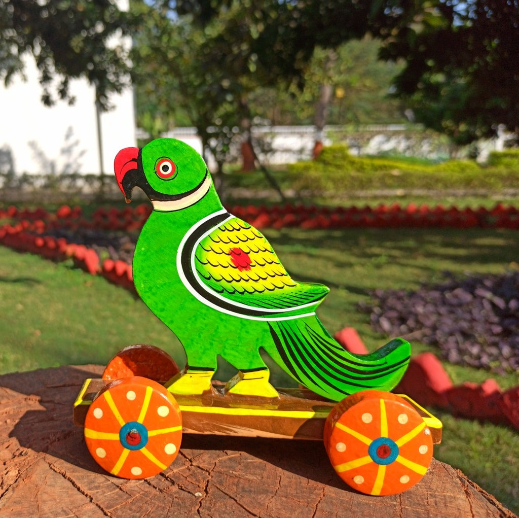 Parrot Push Along Toy