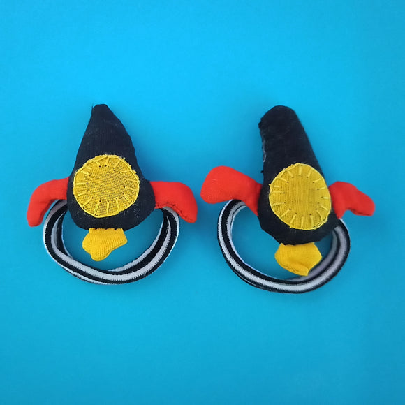 Rocket Hair Ties