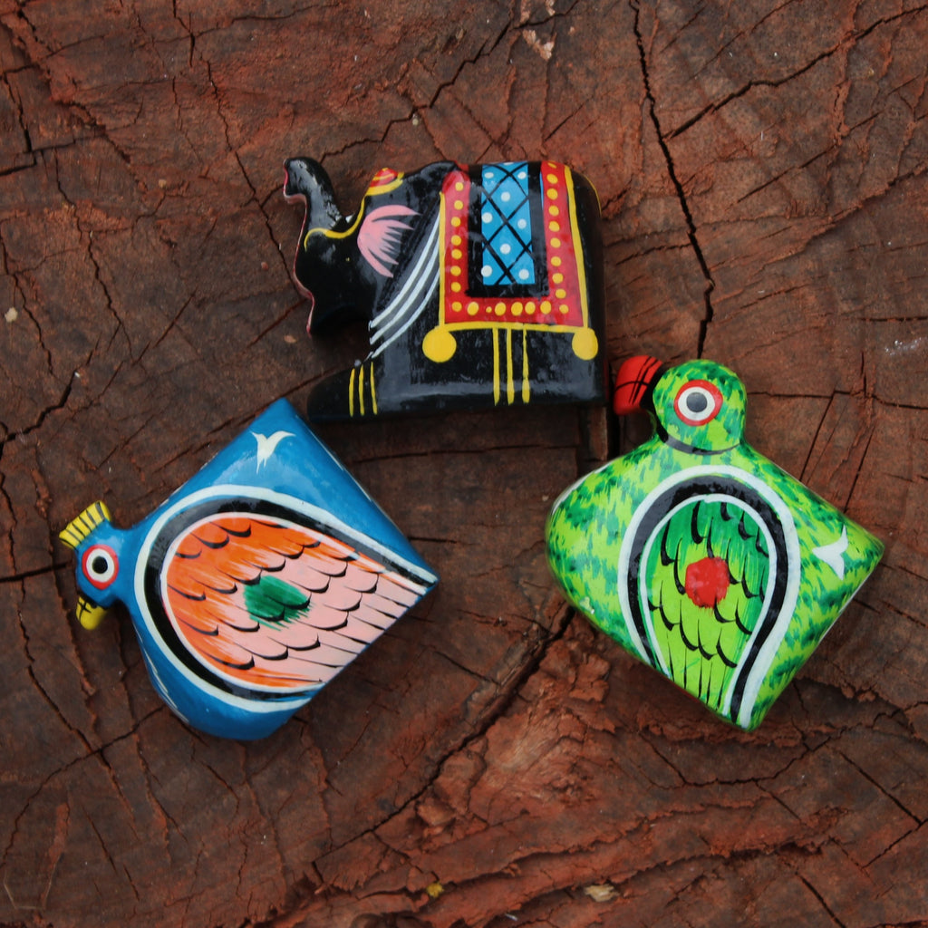 Handpainted Sharpeners from Varanasi