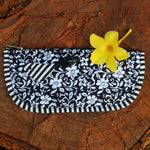 Applique Work Pencil Pouch - With Bird Sewn on Top