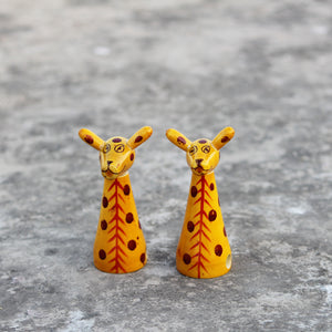 Wooden Sharpeners - Giraffes - Set Of Two