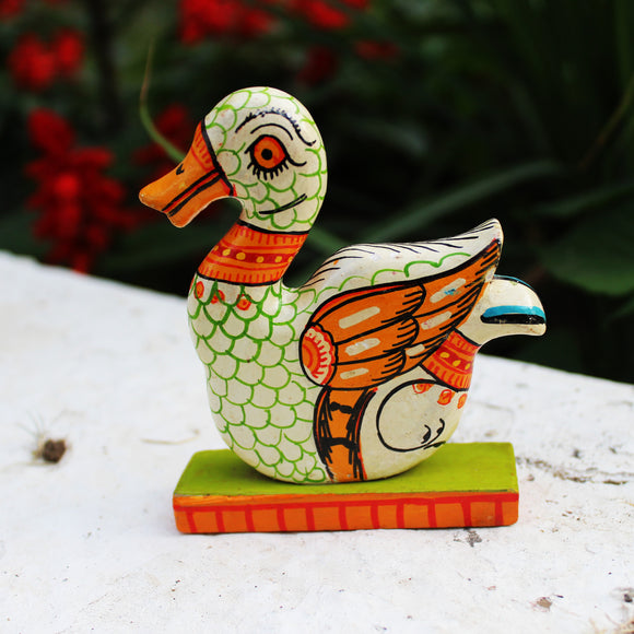 Pattachitra Toy Figurines - Swan