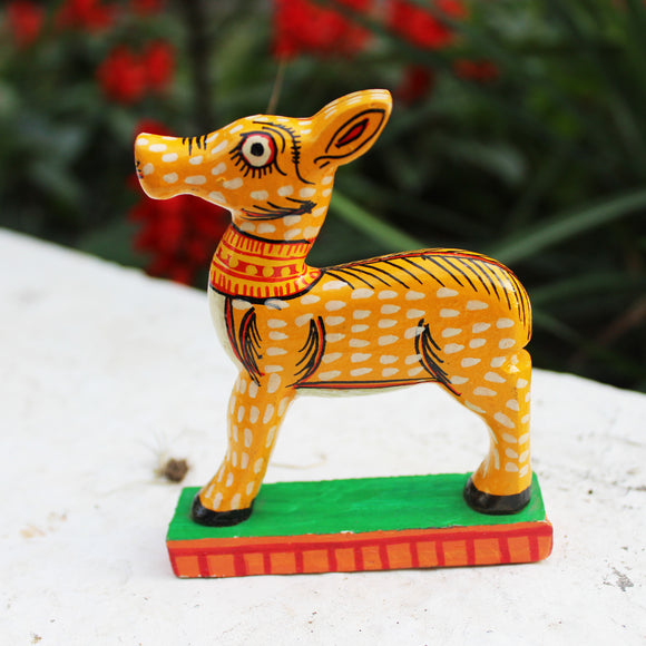 Pattachitra Toy Figurines - Deer