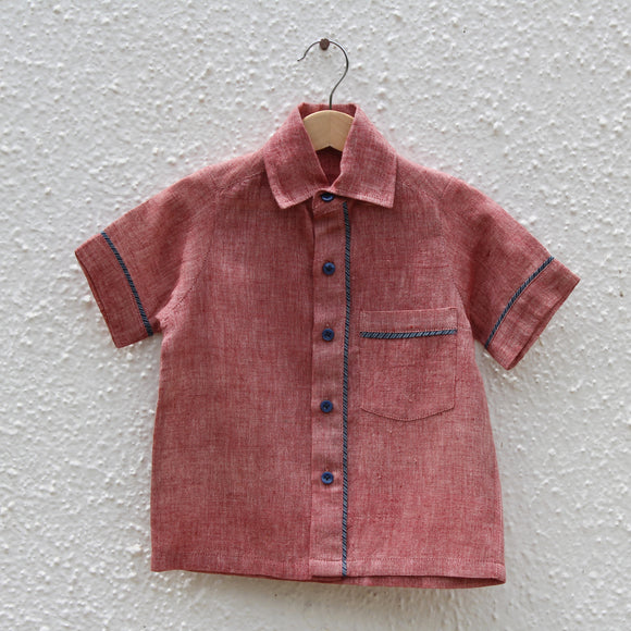 Cherry Blossom Kala Cotton Shirt